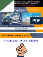Seminario de Investigación II - Sesiones 15 y 16