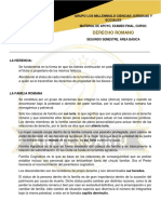 Derecho Romano, Examen Final