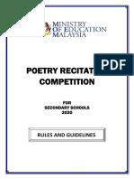 Online Poetry Recitation for Secondary Schools (1)