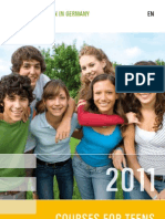 Courses for Children and Teens 2011