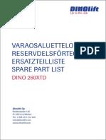 260XTD Spare-parts-catalogue-26297-DATE20180329