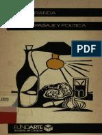 JULIO MIRANDA POESIA, PAISAJE Y POLITICA