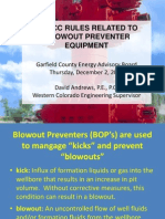 COGCC_Rules_Blow_Out_Preventer_Equipment_Presentation