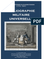 General BARDIN. Bibliographie Militaire Universelle 1851