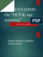 Presentation on OCP and SAP by Ritul Tripathi