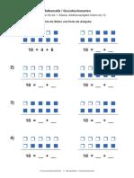 Mathematik Grundrechenarten Addition Aufgabe Finden Bis 10 Nr 4