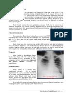 Pleural Effusion - Case Study