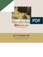 Catálogo 20x20cm catalogue N.A.O Exhibition Spain
