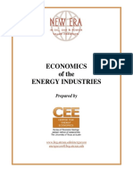 Economics of Energy Industries1