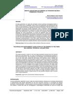 A Legislação Ambiental Brasileira Do Império Ao Terceiro Milênio