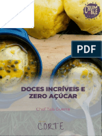 Ebook Doces Incriveis e Zero Açúcar