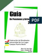 Guía de Pensiones y Arriendos 2011