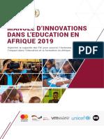 Manuel d'Innovation dans l'Education en Afrique - 2019