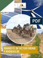 EN PARTENARIAT AVEC MINISTERE DE L ENERGIE SEPTEMBRE DIAGNOSTIC DU SECTEUR ENERGIE A MADAGASCAR