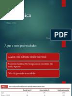 Bioquímica Água PDF