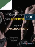 Alimentação Hipertrofia X Emagrecimento
