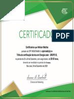 Certificado Intelbras