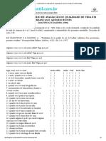 AUQEI - Questionário de Avaliação de Qualidade de Cida Em Crianças e Adolescentes