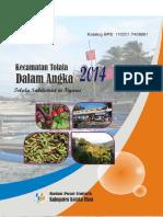Kecamatan Tolala Dalam Angka 2014