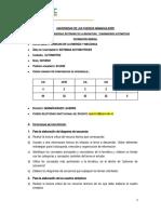 Guía Trabajo Autónomo -transmisiones automaticas 3176 REFORMULADA