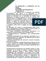 DSMIV ESTRES POSTRAUMATICO