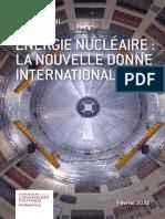 Fondapol Etude Energie Nucleaire La Nouvelle Donne Internationale Marco Baroni 02 2021