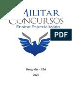 Apostila ESA - Geografia