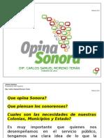 OPINA_SONORA_-_PRESENTACIÓN_DEL_PROGRAMA__-_MENSAJE_DEL_DIP._SAMUEL_MORENO_TERÁN_-_FEBRERO_DE_2010