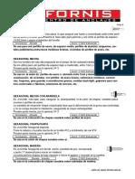 6 Fijaciones - Autoperforantes Usos Indicados 2