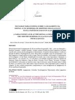 Um olhar variacionista sobre o apagamento da dental d no morfema de gerúndio em Alagoas e Piauí a partir de dados do ALiB