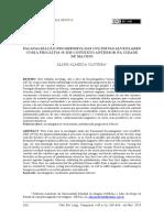 Palatalização progressiva das oclusivas alveolares com a fricativa s em contexto anterior na cidade de Maceió