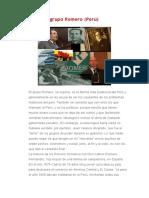 Historia del grupo Romero