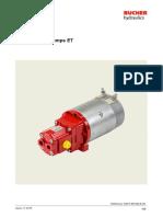 hidraulik pump elektrik