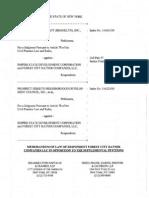 FCR Memorandum of Law in Friedman Supplemental Case