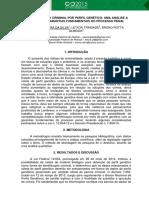 2015 A IDENTIFICAÇÃO CRIMINAL POR PERFIL GENÉTICO UMA ANÁLISE A  SA02421