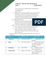Exam #1 Study Guide - Key Objectives