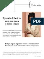 Entrevista Djamila Ribeiro