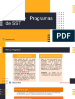 Planes y Programas de SST
