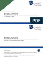 Linear Algebra - Module 1 (1)