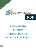 REGLAMENTO INTERNO DE SEGURIDAD Y SALUD 12-2017