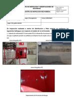 Cód D-PR- 03 REGISTRO DE INSPECCIONES Y OBSERVACIONES DE SEGURIDAD