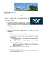 ADOC/State of Alabama's Lease Agreement With CoreCivic - Fact Sheet_Feb 1, 2021