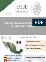 2018 avances de eliminación en México