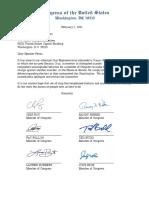 Joint Letter to Speaker Pelosi Re Rep AOCs Cruz Tweet