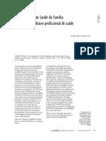 Complexidade em Saúde da Família e formação do futuro profissional de saúde