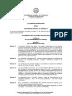 Reglamento de Elecciones UCV