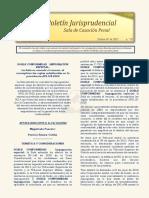 Boletin Jurisprudencial 2021-02-01
