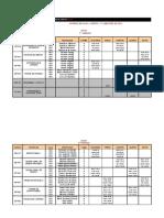 Horário Direito - OBRIGATÓRIAS 2019-1
