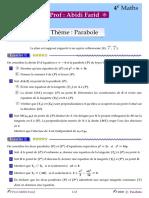 4M Serie1 Parabole 2020
