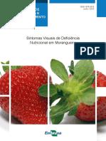 Artigo - Sintomas Visuais Da Deficiência Nutricional Em Morangueiro